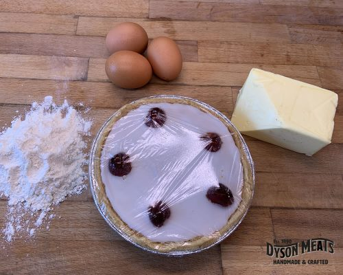 Large Iced Bakewell Tart
