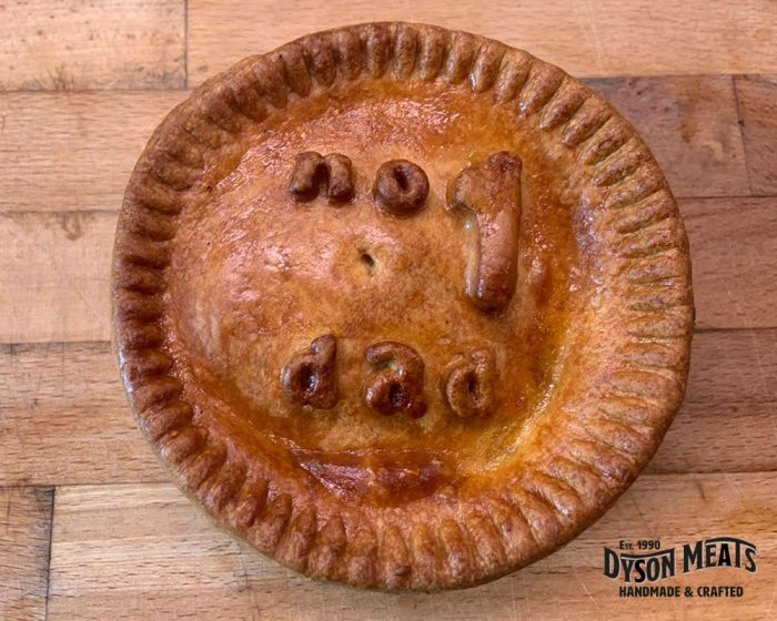 personalised pork pie